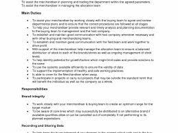 Sample Resume For Merchandiser Job Description Visual Resume Templates Free Download Merchandiser Job 82