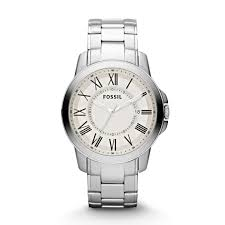 grant stainless steel watch fossil grant stainless steel watch