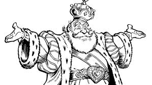 Colouring Picture Of King Pardulfus Efteling Kids