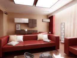 Red Wall Living Room Decorating Living Room Impressive Red And Brown Living Room Schemes With