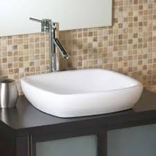 decolav vessel sink. Interesting Vessel Decolav 1423CWH Square SemiRecessed Vitreous China Sink Vessel  White Throughout E