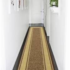 this review is from ottohome collection contemporary bordered design brown 3 ft x 10 ft non skid runner rug