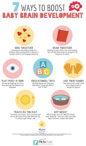 7 Ways To Boost Your Babys Brain Development Infographic