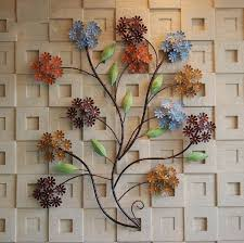modern home decoration creative 3d metal wall art hand made colorful flowers as wall decor on wall art 3d metal decor with modern home decoration creative 3d metal wall art hand made colorful