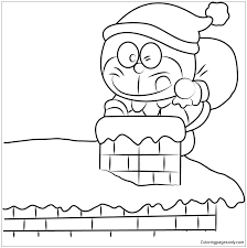 This is a free hand video which is help to learn draw and color to your kids. Christmas Doraemon Coloring Pages Doraemon Coloring Pages Free Printable Coloring Pages Online