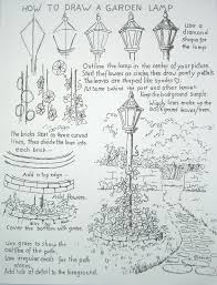 How To Draw Worksheets For The Young Artist How To Draw A Garden
