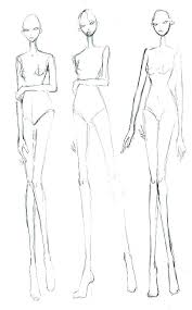 How To Draw A Fashion Sketch Templates 9 Head By Fashion Design