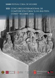 XXX Concurso de Composici n Coral de Segorbe Coralea