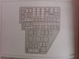 daytime running lights drl not working toyota sienna forum here is a pic of my fuse box diagram