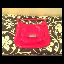 COACH Kristin Fuchsia Patent Leather Hobo Bag You will get tons of  compliments on this beautiful