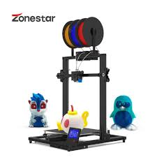 ZONESTAR 3 Color Large Size 3 Extruders 3-IN-1-OUT Mixing ...