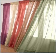 2pc solid sheer voile window panels curtain or 1pc scarf valance 37x216