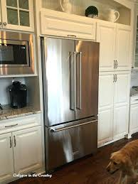 kitchenaid side by side counter depth new kitchen aid french door counter depth refrigerator kitchenaid 25