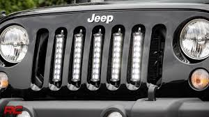 Jeep Grill With Light Bar Pin On Jeep Ideas
