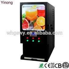 Coffee Vending Machine Premix Powder New Yinong Gbs48d 48 Hot 48 Cold Flavors Premix Instant Drinks Coffee