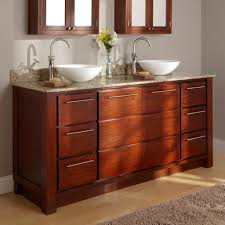 bathroom vanities vessel sinks sets. Mahogany Double Vessel Sink Bathroom Vanity Set With Granite Countertop Vanities Sinks Sets .