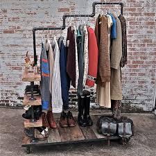 Hanger Style Coat Rack Industrial Style Clothes Rack la boutique Pinterest Clothes 34