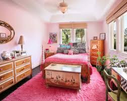 Orange And Pink Bedroom Pink Bedroom Accent Wall Wide Glass Window View City Lamp Desk The