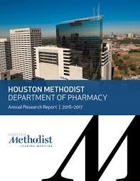 Houston Methodist Org My Chart Houston Methodist Department Of Pharmacy 2016 2017 By