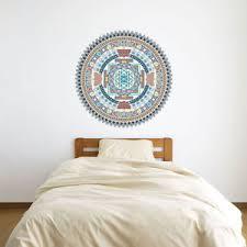 image is loading indian spiritual mandala vinyl wall art sticker for  on spiritual vinyl wall art with indian spiritual mandala vinyl wall art sticker for home decor