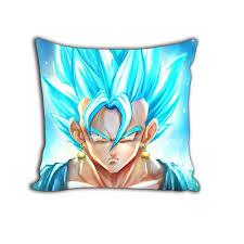 ssjss super saiyan blue goku potara earings cool decorative throw