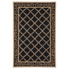 safavieh chelsea black gold 9 ft x 12 ft area rug