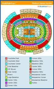 Madison Square Garden Knicks Seating Chart Ny Knicks Seating
