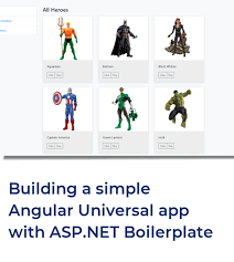 Building a simple Angular Universal application with ASP.NET ...