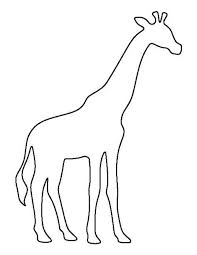 Animal Patterns To Trace Free Drawing Patterns To Trace Pyrography Giraffe Crafts