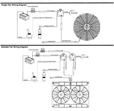 electric fan wiring diagram relay wiring diagram electric radiator fan install simplified club lexus forums electric fan wiring diagram