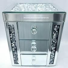 3 drawer jewellery trinket box