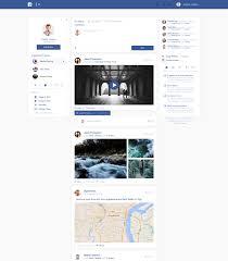 Facebook Interface Design Facebook Redesign Concepts Interface Design Concept