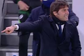 Antonio Conte flips off Andrea Agnelli who tells him to stick that finger  up his a**