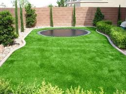 Artificial turf backyard Mini Soccer Field Small Lawns Are Great Places For Astroturf You Will Not Need To Spend As Much Gardenista 27 Amazing Backyard Astro Turf Ideas