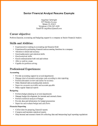 ... cover letter Financial Analyst Resume Sample Financial Template Senior  Docsenior financial analyst resume sample Extra medium
