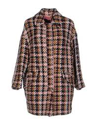 41711230MD <b>FEMME by MICHELE ROSSI</b> Coat tweed/ lamé/ no ...