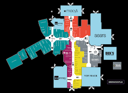 center map of greenwood park mall  a shopping center in greenwood