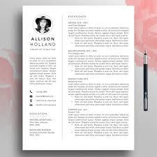 Modern Resume Etsy Modern Resume Cv Template 1 3 Page Professional Resume Template Word Creative Resume Pages Simple Minimalist Resume Download Mac Allis