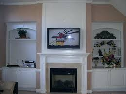 mounting tv in brick fireplace how to mount over brick fireplace mounting flat screen