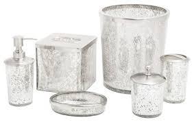 bathroom accessories sets silver. Shop Houzz | Paradigm Trends Ice 6-Piece Bathroom . Accessories Sets Silver