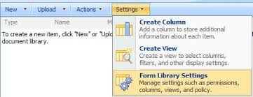 Form Library Sharepoint 2010 Sharepoint Administration Step By Step Guide On Publishing Infopath