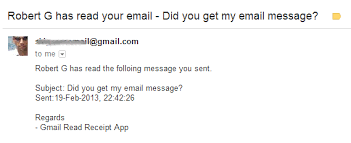 Confirm Of Receipt Get A Read Receipt For Your Gmail Without Using Google Apps