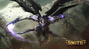 thanatos wallpaper splash art from china