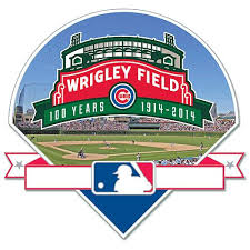 Cubs 1914 Club Seating Chart Chicago Cubs Wrigley Field 100th Anniversary Field Pin By
