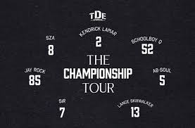 See Kendrick Lamar SZA ScHoolboy Q More In LA Tickets To TDE Cool Ab Soul Quotes