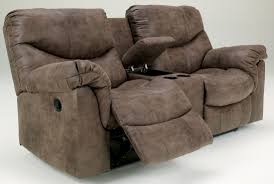 small reclining loveseat. Alzena Double Reclining Loveseat With Console From Ashley (7140094) | Coleman Furniture Small E