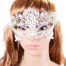 3pcs white make up party ball party mask masque y lace mask beauty female