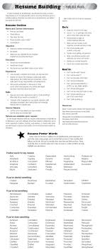 Check Out Today S Resume Building Tips Resume