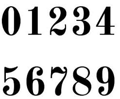 Cool Number Fonts Cool Number Fonts X3cb X3efonts X3c B X3e For Mathematics Tattoos