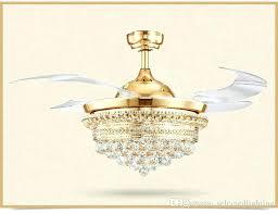 der chrome ceiling fan with crystal discs light kit chandelier lights modern fans